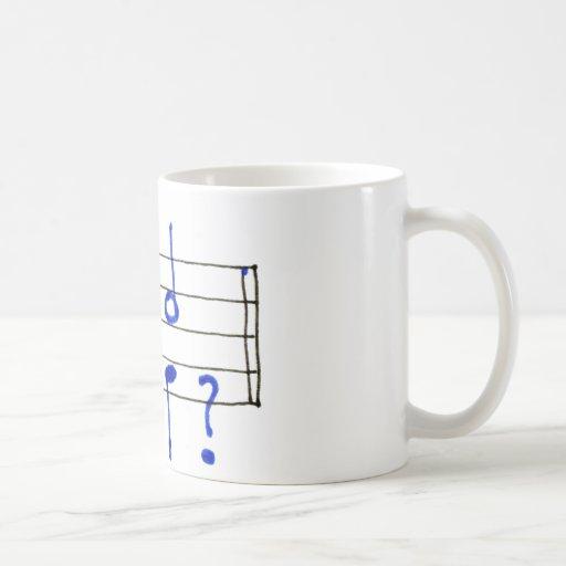 Asunto no terminado taza clásica