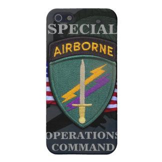 asuntos civiles de los ops especiales del usacapoc iPhone 5 carcasa