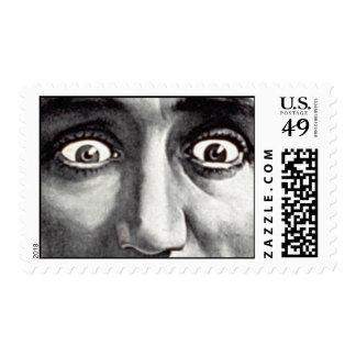 Asustadizo los ojos sellos