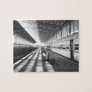 Aswan Egypt, Interior of Aswan Dam Train Station Jigsaw Puzzle