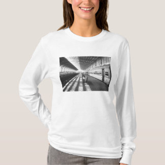 Aswan Egypt, Interior of Aswan Dam Train Station T-Shirt