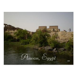 Aswan, Egypt Postcard