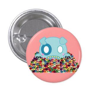 Asyl the Dog - Sugar Skulls Pin