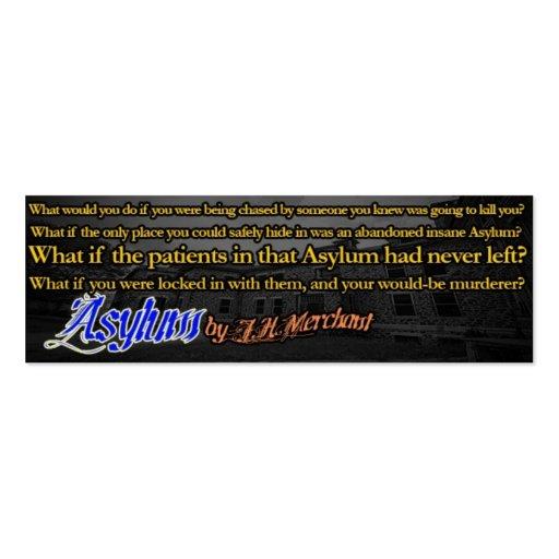 Asylum:by J.H.Merchant Business Card
