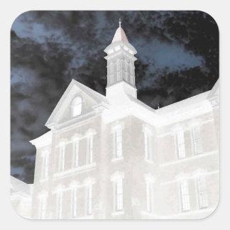 Asylum Skyes Square Sticker