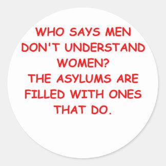ASYLUMS.png Round Sticker