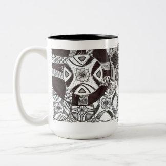 Asym Japanese Zen Garden Coffee Mug