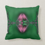 Asymetrical Abstract Jungle 9 American MoJo Pillow