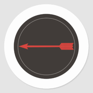 Asymmetric Warfare Group Classic Round Sticker