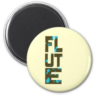 Asymmetrical Flute Magnet