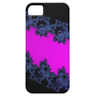 Asymmetrical Pink Slash Fractal Cases