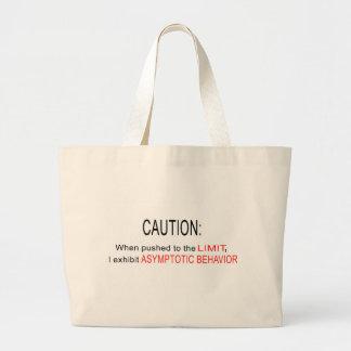 Asymptotic behavior large tote bag