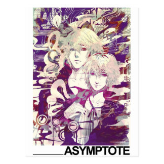 ASYMTOTE POSTCARD