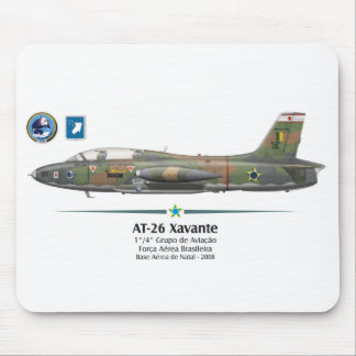 AT-26 Xavante - Brazilian Air Force - BAF Mouse Pad
