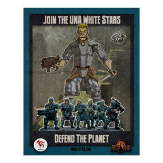 AT-43 Comic: Defend the Planet Poster