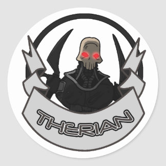 AT-43 Comic Therian Classic Round Sticker