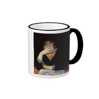At a Book Ringer Mug