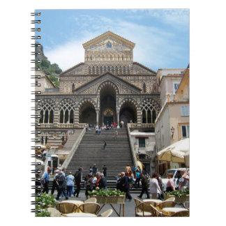 At a Café in Amalfi Notebook