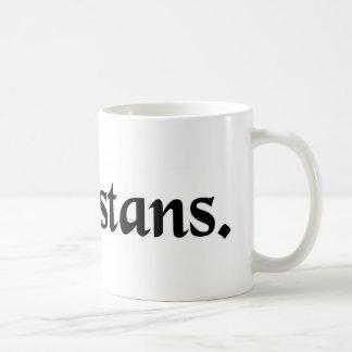 At a distance. coffee mug