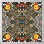 At Adj Mandala Organica Huge Design Print