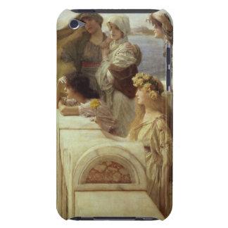 At Aphrodite's Cradle, 1908 (oil on panel) iPod Case-Mate Case
