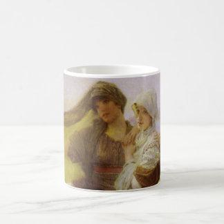 At Aphrodite's Cradle by Sir Lawrence Alma Tadema Coffee Mug