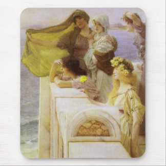 At Aphrodite's Cradle by Sir Lawrence Alma Tadema Mouse Pad