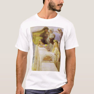At Aphrodite's Cradle by Sir Lawrence Alma Tadema T-Shirt