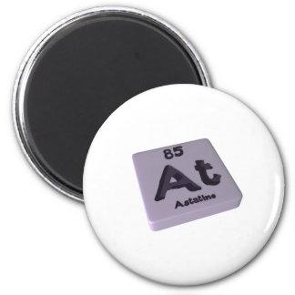 At Astatine 2 Inch Round Magnet