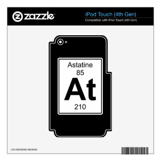 At - Astatine Decal For iPod Touch 4G