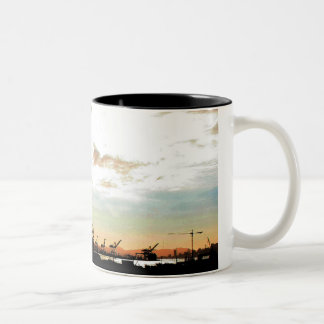 AT-AT Invasion of Oakland Two-Tone Coffee Mug
