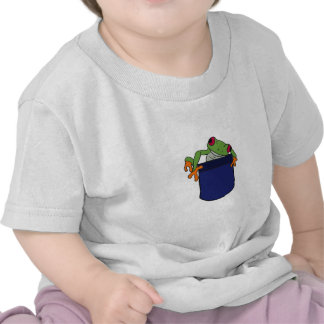 AT- Baby Froggie in a Pocket Tshirts