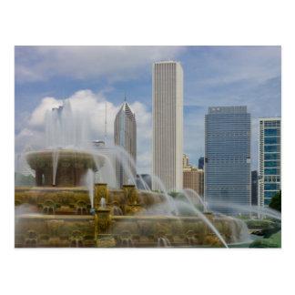 At Buckingham Fountain Postcard