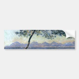 At Cap d'Antibes by Claude Monet Bumper Sticker