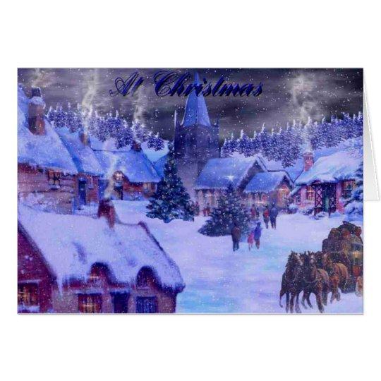 At Christmas Card