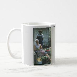 At Clara Mae's Classic White Coffee Mug