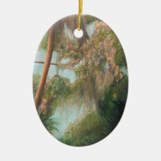 AT CROSS CREEK Ceramic Ornament
