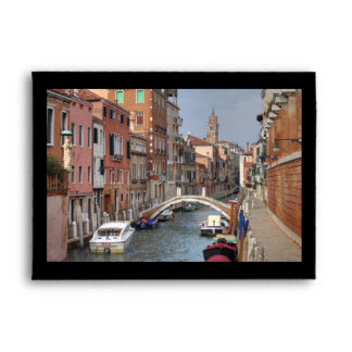 At Dorsoduro, Venice Italy Envelopes