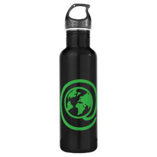 At Earth Day Stainless Steel Water Bottle
