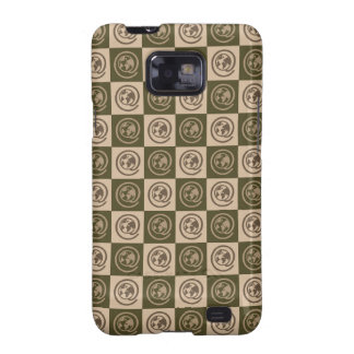 At Earth Sign Pattern Galaxy S2 Cases