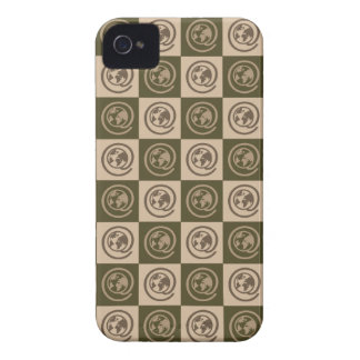 At Earth Sign Pattern Case-Mate iPhone 4 Case