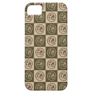 At Earth Sign Pattern iPhone SE/5/5s Case
