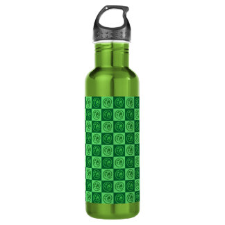 At Earth Sign Pattern Stainless Steel Water Bottle