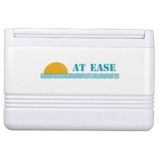 """At Ease"" custom 12-can Igloo cooler"