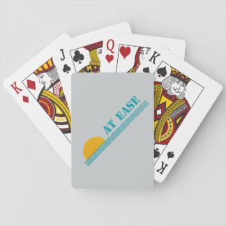 """At Ease"" custom playing cards"