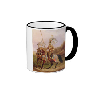 At Eglinton, Lord of the Tournament, 1840 (oil on Ringer Mug