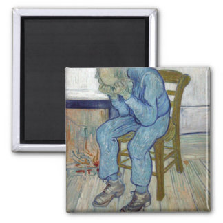 At Eternity's Gate by Vincent van Gogh Refrigerator Magnet
