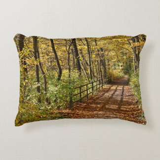 At Fall In Wienerwald Decorative Pillow
