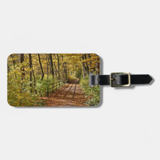 At Fall In Wienerwald Luggage Tag