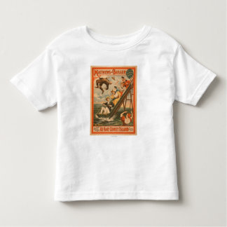 """""""At gay Coney Island"""" Musical Comedy Poster #2 Toddler T-shirt"""